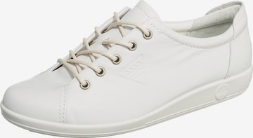 ECCO Lace-Up Shoes in White
