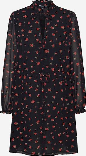 NEW LOOK Blousejurk 'NATASHA' in de kleur Rood / Zwart, Productweergave