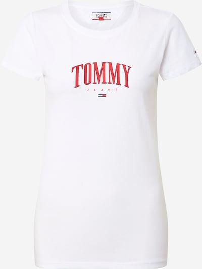 piros / fehér Tommy Jeans Póló 'TJW TOMMY SCRIPT TEE', Termék nézet