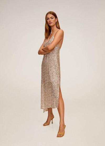 MANGO Kleid 'Len' in gold, Modelansicht