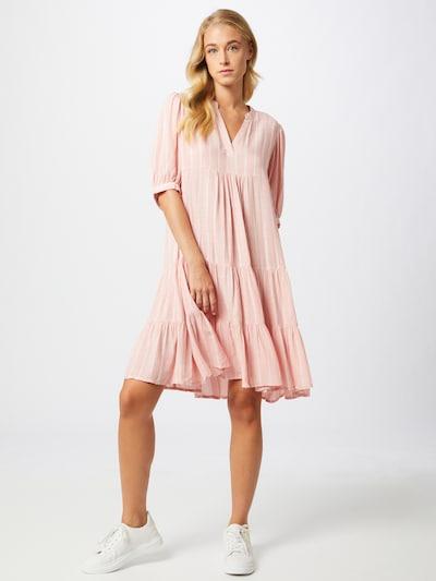SISTERS POINT Kleid 'IBON' in rosa / weiß, Modelansicht