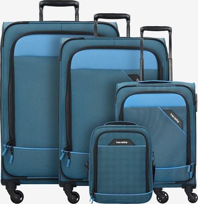 TRAVELITE Ensemble de bagages en bleu / turquoise / noir, Vue avec produit