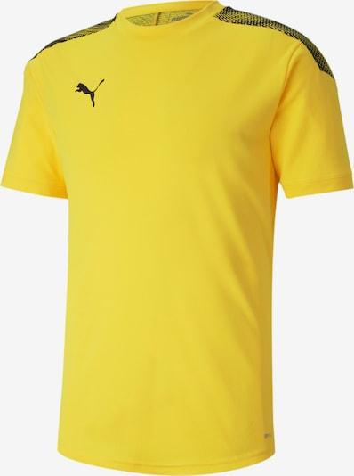 PUMA Fußballtrikot in gelb / schwarz, Produktansicht