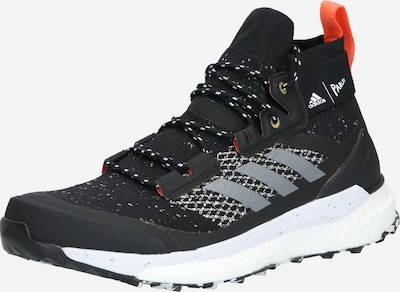 ADIDAS PERFORMANCE Sportschoen 'TERREX FREE HIKER P' in de kleur Grijs / Rood / Zwart, Productweergave