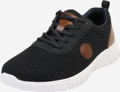 RIEKER Sneaker in navy / braun / weiß, Produktansicht