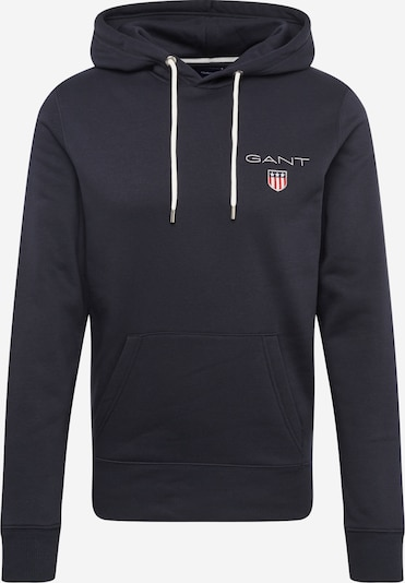 GANT Sweatshirt 'MEDIUM SHIELD HOODIE' in schwarz, Produktansicht