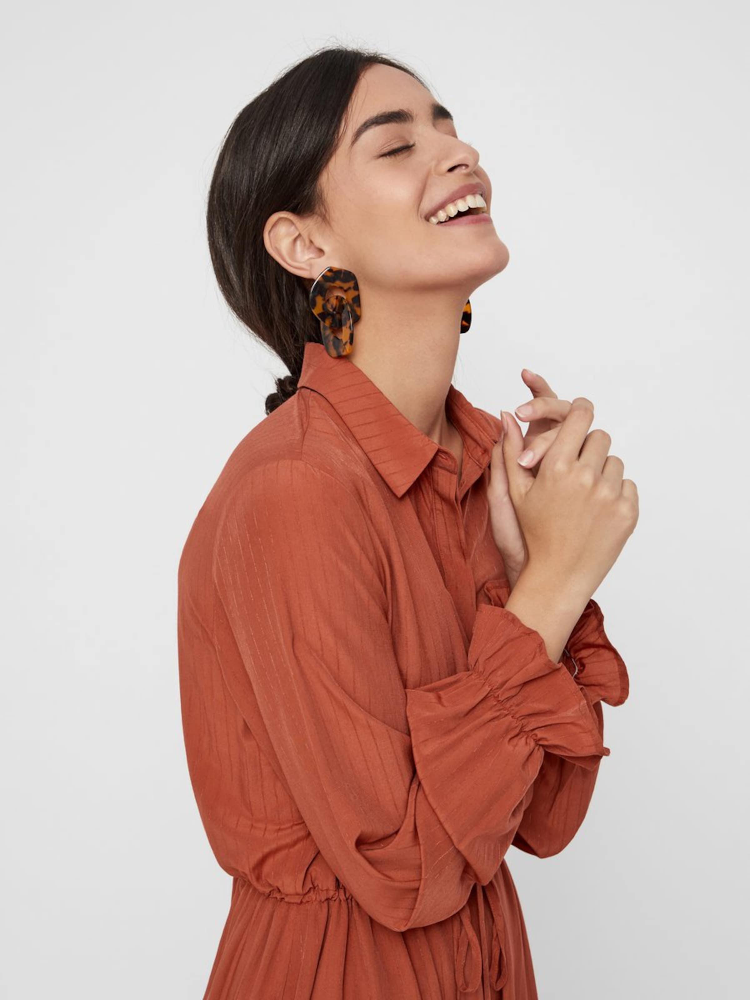 Pieces chemise Rouge Rouille En Robe MqpGzVSU