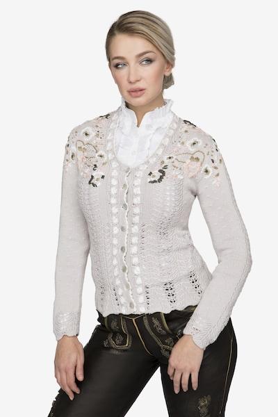 STOCKERPOINT Jacke 'Ivona' in beige, Modelansicht