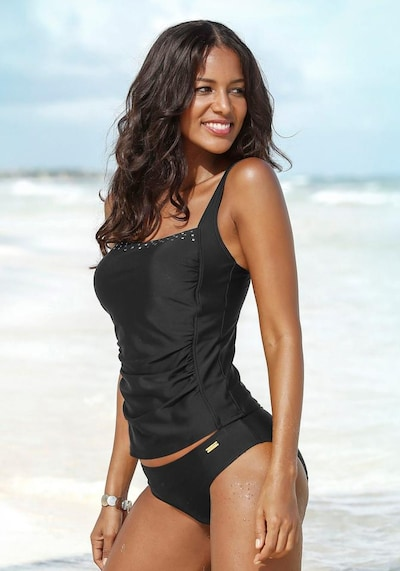 LASCANA Tankini in Black / White, View model