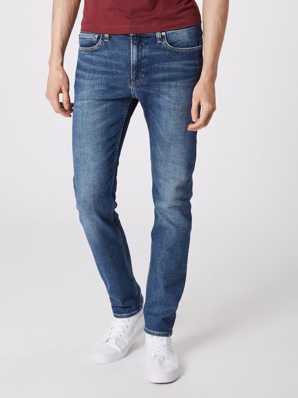 Slim' Calvin 026 En Denim Bleu Jean Jeans 'ckj Klein E2YHeDIbW9