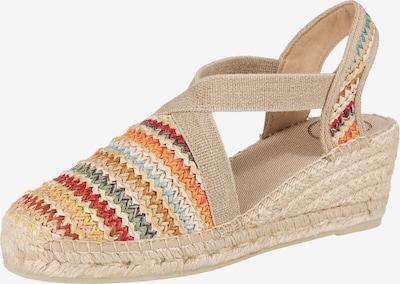 Toni Pons Sandaletten 'Terra-Ma' in beige / mischfarben, Produktansicht