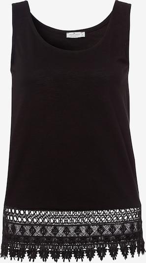 Cross Jeans Top in schwarz, Produktansicht