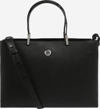 TOMMY HILFIGER Ročna torbica 'CORE SATCHEL' | črna barva, Prikaz izdelka