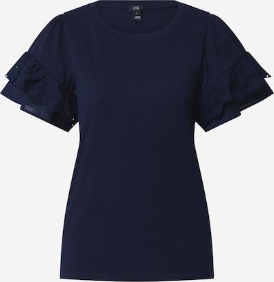 Marškinėliai 'BRODERIE' iš River Island , spalva - tamsiai mėlyna, Prekių apžvalga