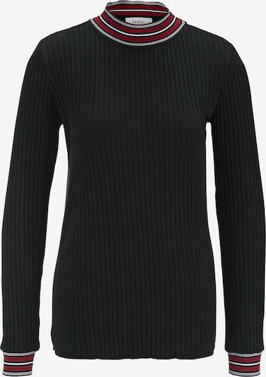 heine Shirt in weinrot / schwarz / weiß, Produktansicht