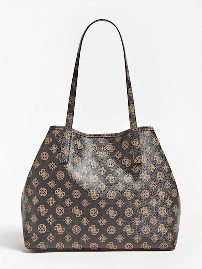 GUESS Shopper 'Vikky' in hellbraun / dunkelbraun, Produktansicht