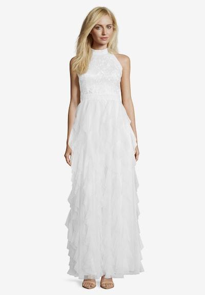 Vera Mont Abendkleid in elfenbein, Modelansicht