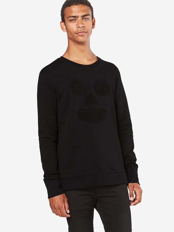 Tiger of Sweden Sweatshirt 'CUZ' mit frottiertem Front-Motiv