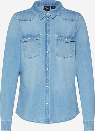 VERO MODA Jeansbluse 'VMMARIA ' in blue denim, Produktansicht