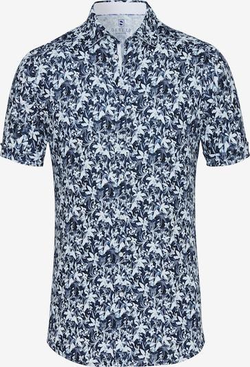 DESOTO Jerseyhemd in dunkelblau / mischfarben, Produktansicht