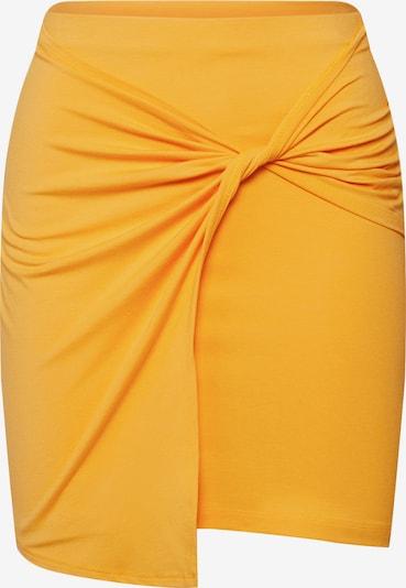 Fustă 'Phila' EDITED pe galben: Privire frontală