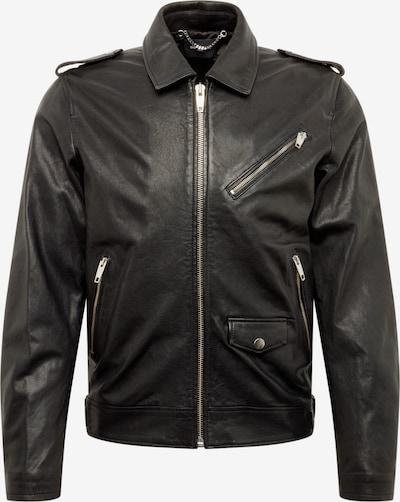 The Kooples Tussenjas 'VESTE CUIR' in de kleur Zwart, Productweergave