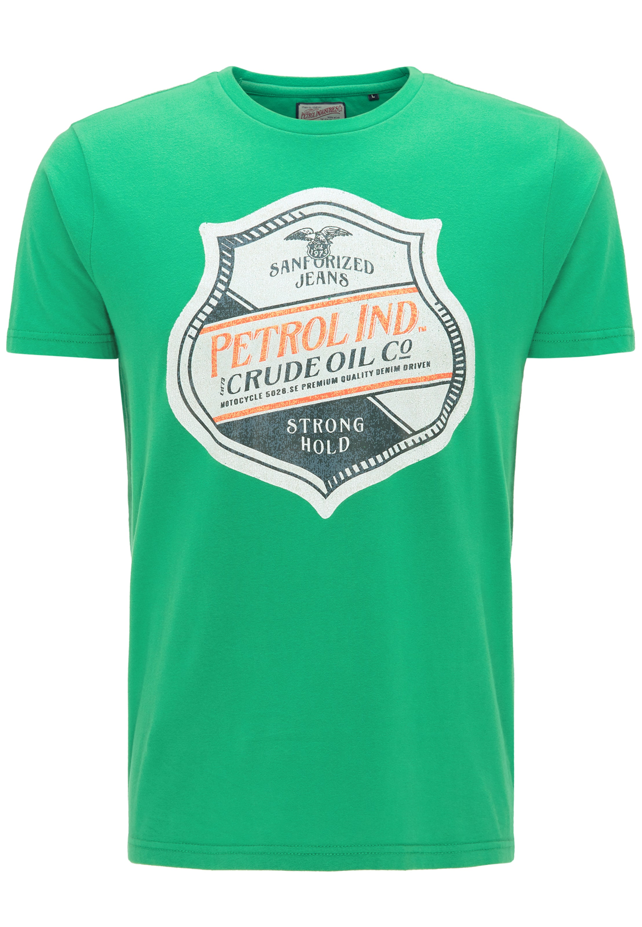 Petrol FoncéVert shirt T En Bleu Orange Industries Clair Blanc CxdoBreW