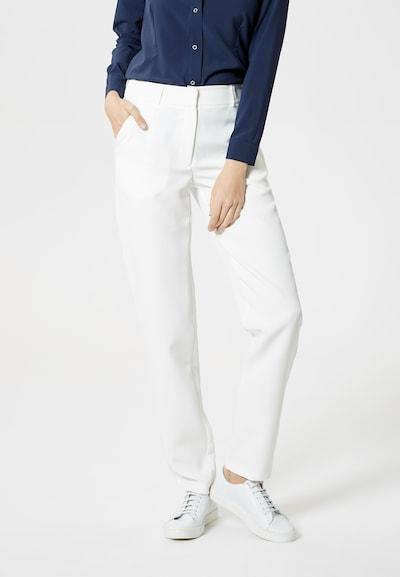 DREIMASTER Chino 'Maritim' in de kleur Wit: Vooraanzicht