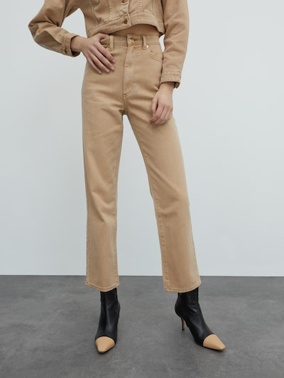 EDITED Jeans 'Maren' in camel, Modelansicht