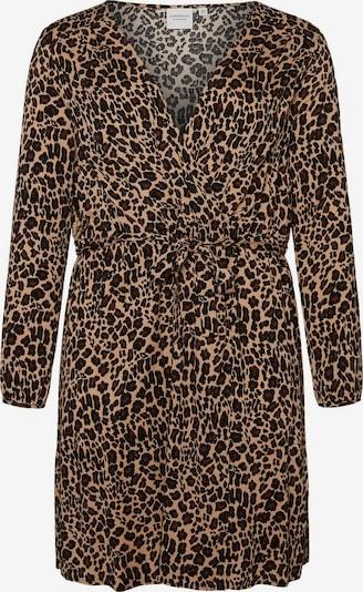 Junarose Kleid in hellbraun / schwarz, Produktansicht