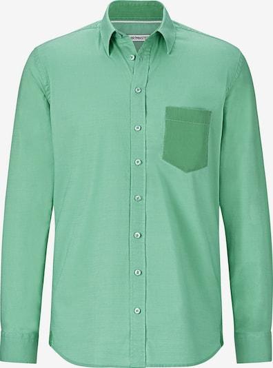 Shirtmaster Overhemd in de kleur Groen, Productweergave