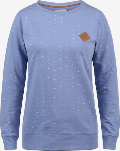 Blend She Sweatshirt 'Polly' in rauchblau / weiß, Produktansicht