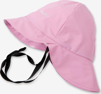 PLAYSHOES Regenmütze in rosa: Frontalansicht