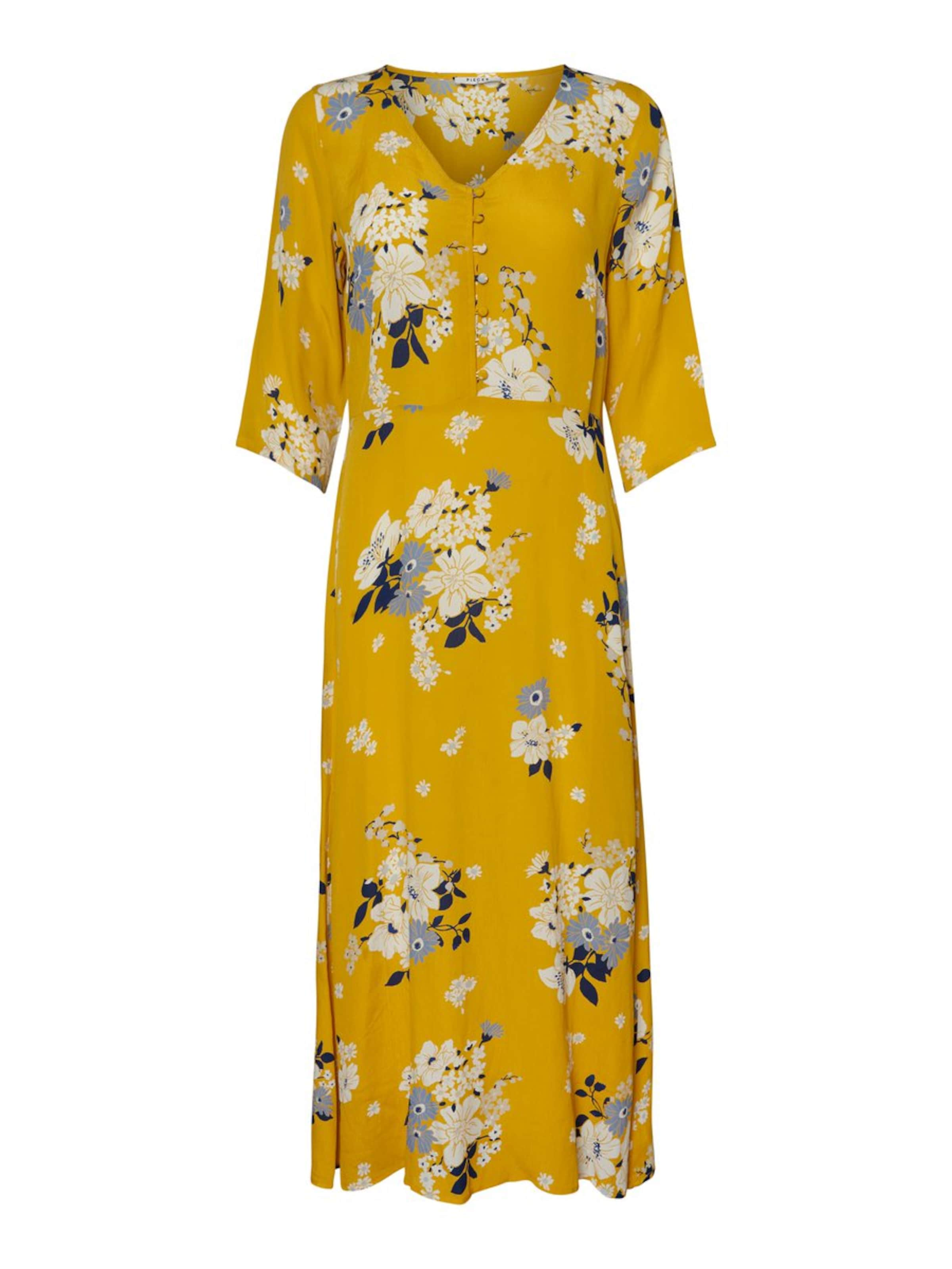 Robe Pieces Pieces Jaune Pieces Robe En Robe En Jaune 5AR34jL