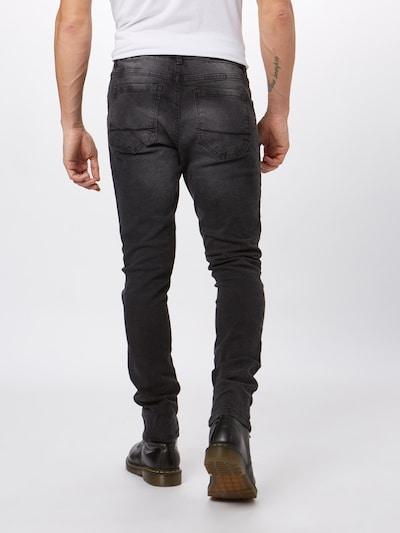 Urban Classics Kavbojke 'Slim Fit' | črn denim barva: Pogled od zadnje strani