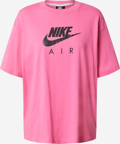 Tricou 'Air' Nike Sportswear pe roz / negru, Vizualizare produs