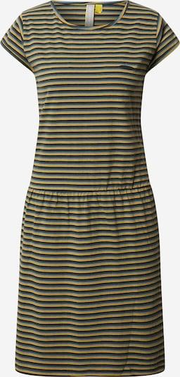 Alife and Kickin Kleid 'ShannaAK' in blau / dunkelgelb, Produktansicht
