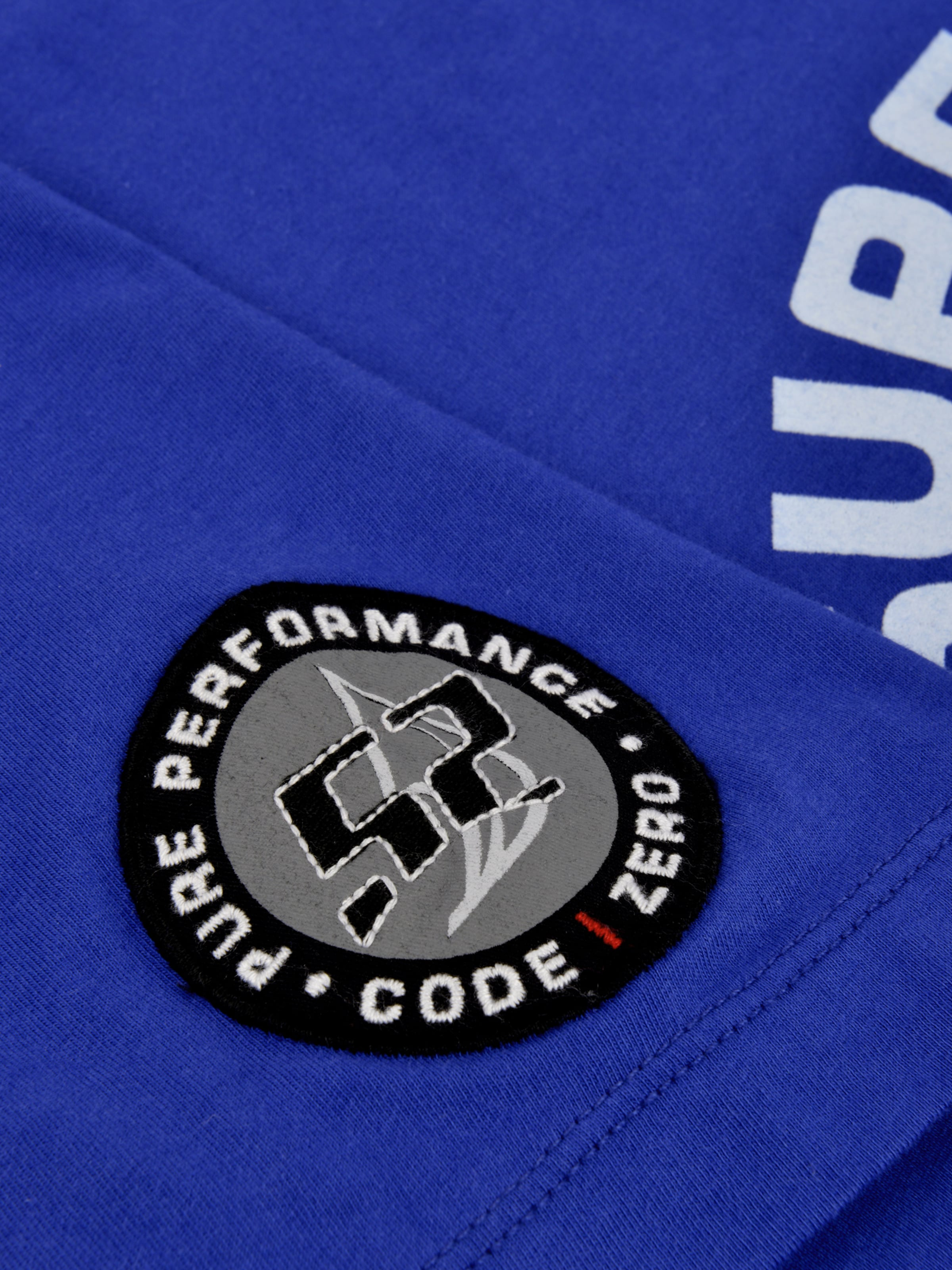zero BlauGelb T shirt Code 'tp52 Ocean' In Weiß 3jL54qRA