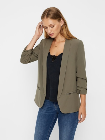 Noisy may Blazer in khaki, Modelansicht