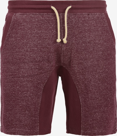 BLEND Sweatshorts 'Smash' in rot: Frontalansicht