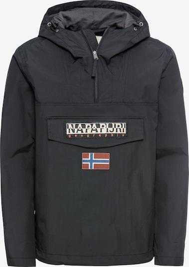 NAPAPIJRI Prehodna jakna 'RAINFOREST'   črna barva, Prikaz izdelka