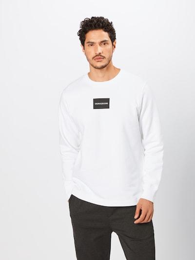 Calvin Klein Jeans Jaka ar kapuci 'SMALL INSTIT BOX REG CN' pieejami balts, Preces skats