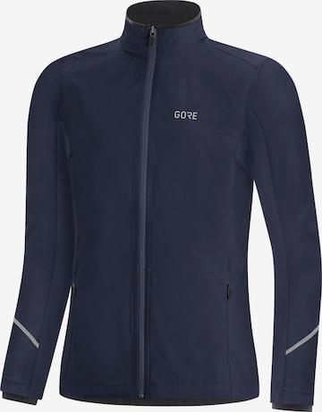 GORE WEAR Athletic Jacket 'R3 GTX' in Blue