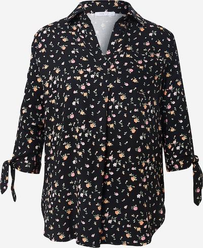 Hailys Blouse 'Belina' in de kleur Gemengde kleuren / Zwart, Productweergave