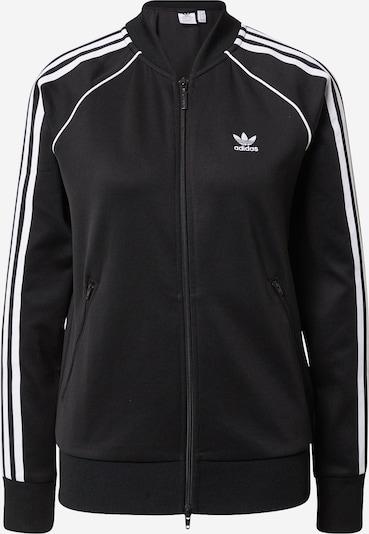 ADIDAS ORIGINALS Sweat jacket in black, Item view