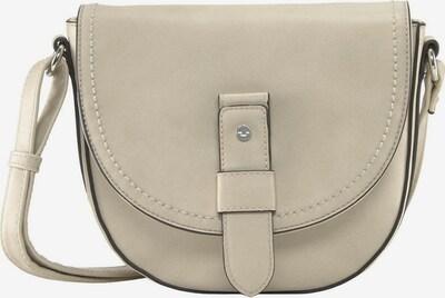TOM TAILOR Überschlagtasche 'MATERIA' in beige / creme / silber, Produktansicht