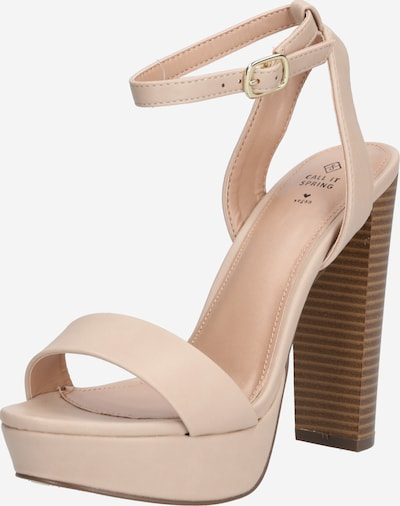 CALL IT SPRING Sandale 'HAAUDIA' in nude, Produktansicht