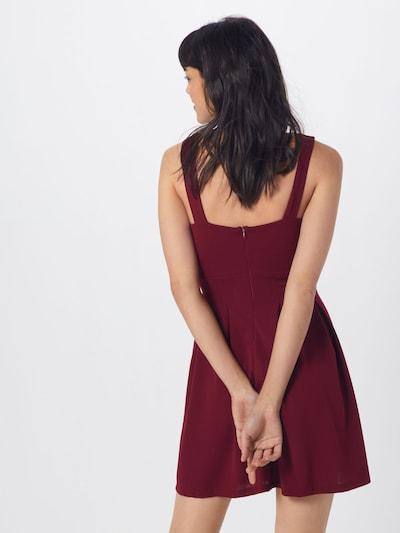 WAL G. Kleid 'WG 7502' in burgunder: Rückansicht