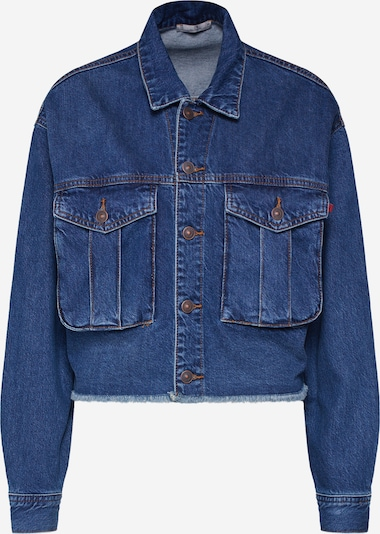 LTB Jacke  'LIWET' in blue denim, Produktansicht