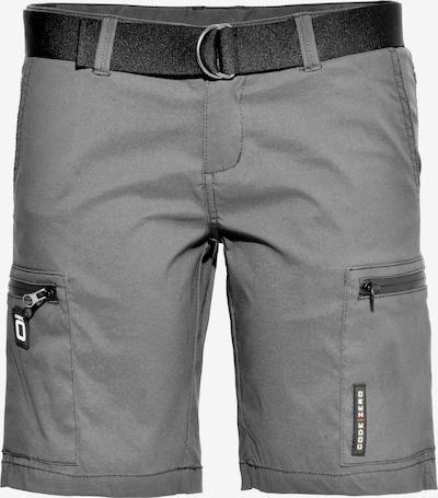 CODE-ZERO Segelshorts in grau / schwarz, Produktansicht